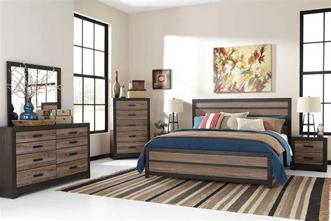 signature design  ashley harrington pc king bedroom set
