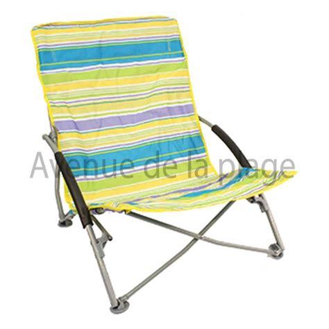 siege de plage pliante chaise de plage basse pliante pas cher achat avenue de