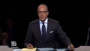 VIDEO: Lester Holt Proved We Need Fact-Checking In Debates