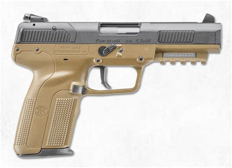 Fde & Black New Twotone Series From Fn The Firearm Blog