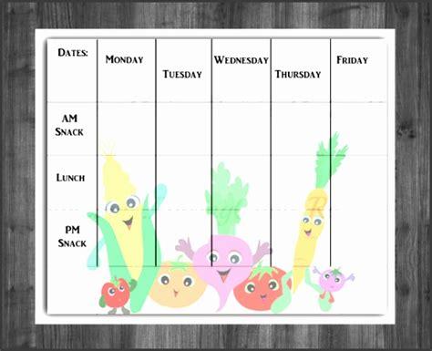 weekly menu templates  word sampletemplatess