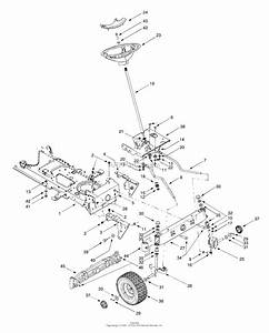 Wiring Diagram  9 Cub Cadet Lt1050 Deck Belt Diagram