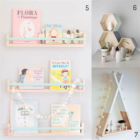 étagère murale pour chambre bébé etagere de chambre etagere chambre fille id es en images