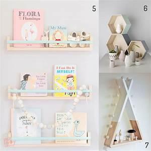 4 idées d'étagères pour chambre d'enfant