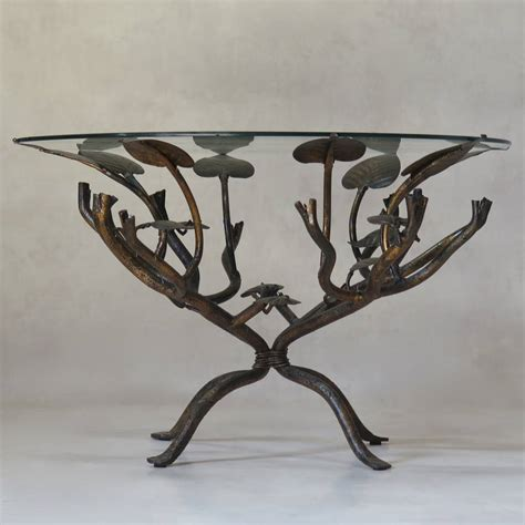 iron coffee table gilt wrought iron quot leaf quot coffee table circa 1950s 1926