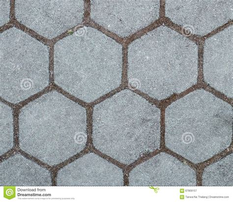 pattern cement tiles block floor background stock