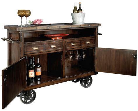 stock kitchen cabinets 695146 howard miller rustic distress wine bar cart console 2520