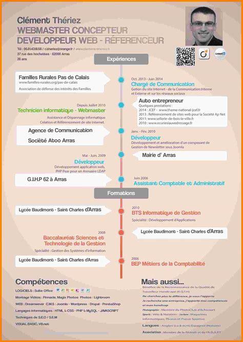 Modele Cv Informatique Word by Exemple De Cv D Informaticien Laboite Cv Fr