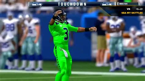 seattle seahawks tnf action green color rush uniforms