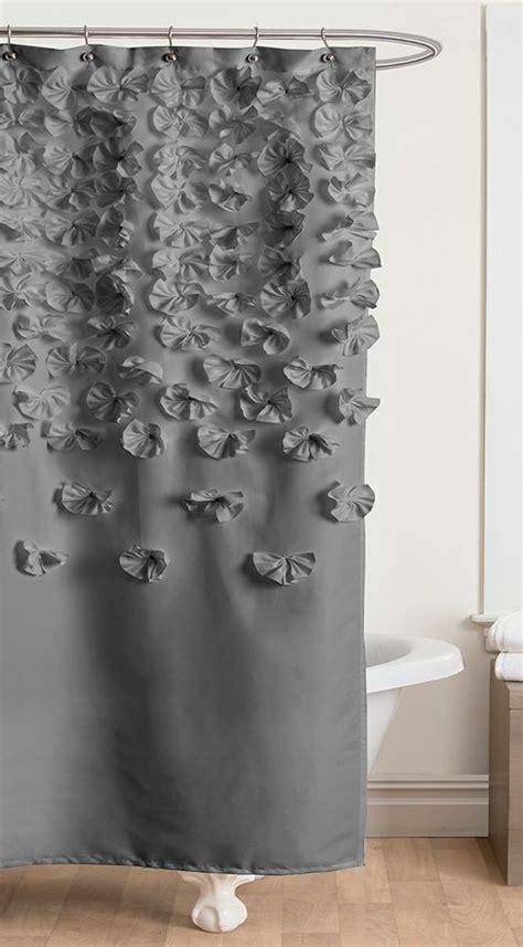 gray lucia shower curtain blackwhitegraybeige