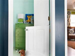 How to Make a DIY Interior Dutch Door HGTV