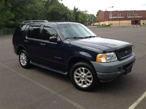 sell   ford explorer xls  door  manual