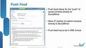 Cisco SocialMiner Tools for Social Media Customer Care