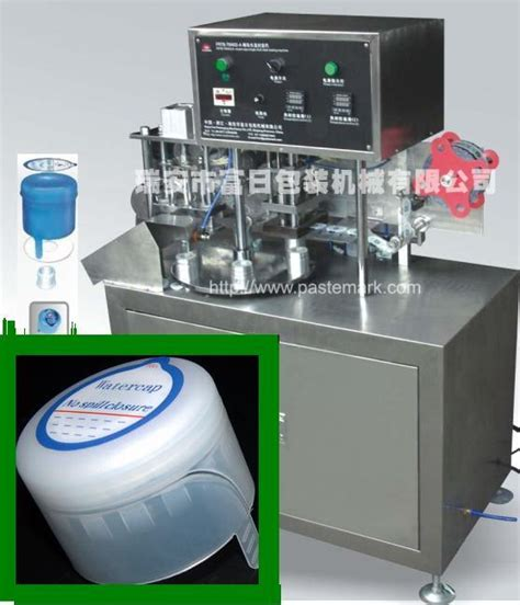 china  gallon water bottle cap sealing machine china sealing machine labeling machine