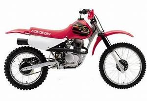 Honda Xr80r    Xr100r Service Manual Repair 1998
