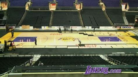 time lapse  lakers court los angeles lakers