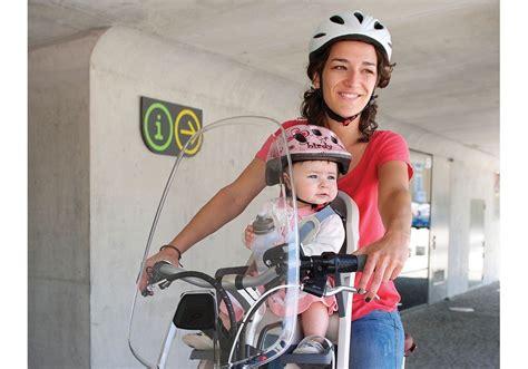 siège vélo bébé polisport pare brise pour porte bébé avant alibabike