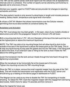 Capricorn Electronics Tm1 Wireless Tank Monitor User Manual