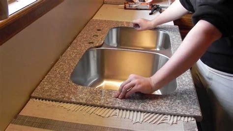 lazy granite kitchen countertop installation video youtube
