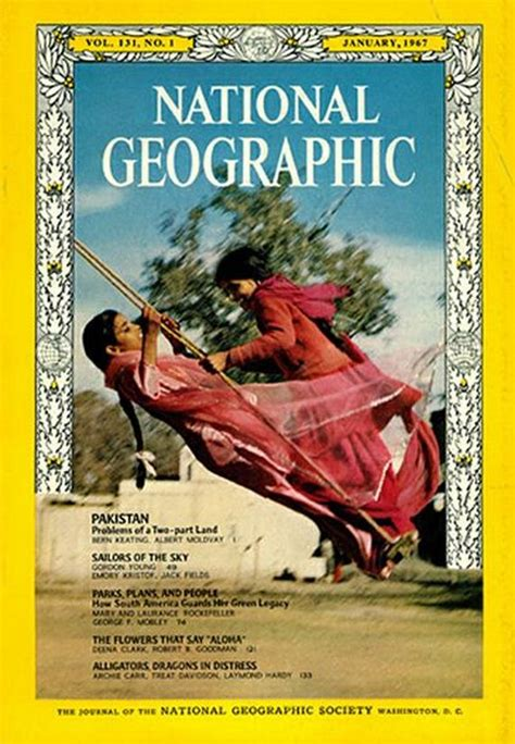 National Geographic Covers - Barnorama