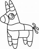 Pinata Donkey Outline Mexican Coloring Template Burro Patterns Sheets Embroidery Mexicano Southwestern Fiesta Urbanthreads Patrones Burritos Dibujos Mexicana Templates Anniversaire sketch template