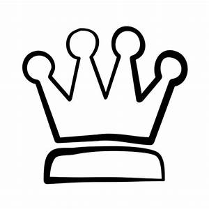 Simple King Crown Drawing - Cliparts.co