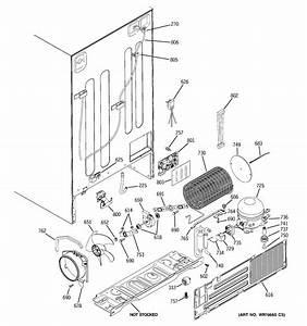 Sealed System  U0026 Mother Board Diagram  U0026 Parts List For