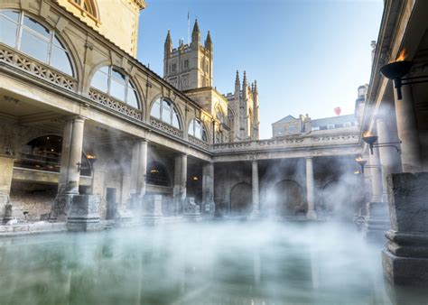Roman Baths Bath Uk Tourism Accommodation Restaurants