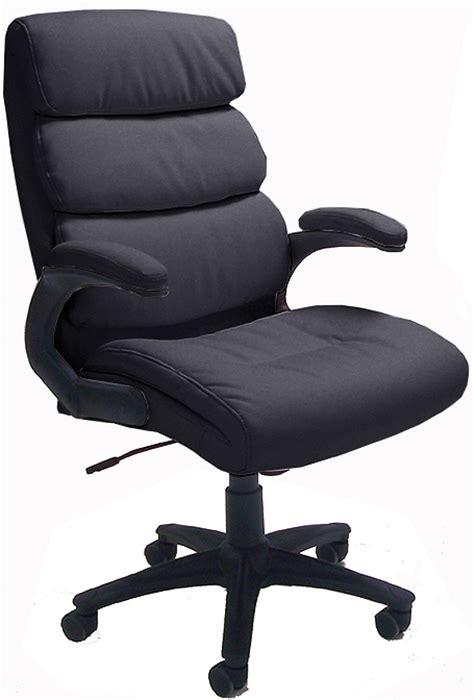 cushion black leather chair
