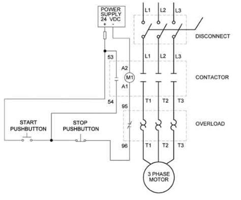 types  overload relays connection diagram