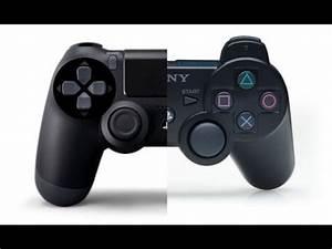 Comparing Dualshock 3 To Dualshock 4