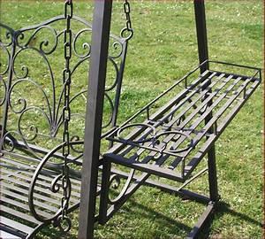 Fauteuil Fer Forgé : style ancien banc fauteuil balancoire balancelle de jardin en metal fer forge ebay ~ Teatrodelosmanantiales.com Idées de Décoration