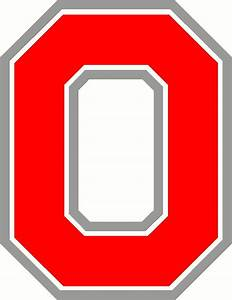 best photos of ohio state block o font ohio state block With ohio state letter art
