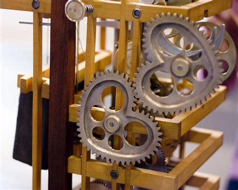 images  wooden gear clocks  pinterest