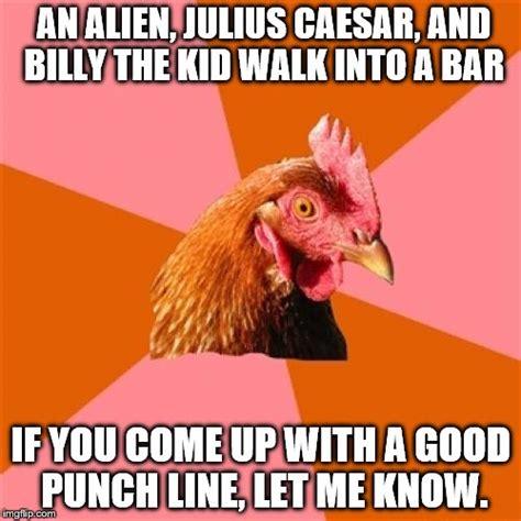 Anti Joke Chicken Meme - anti joke chicken meme imgflip