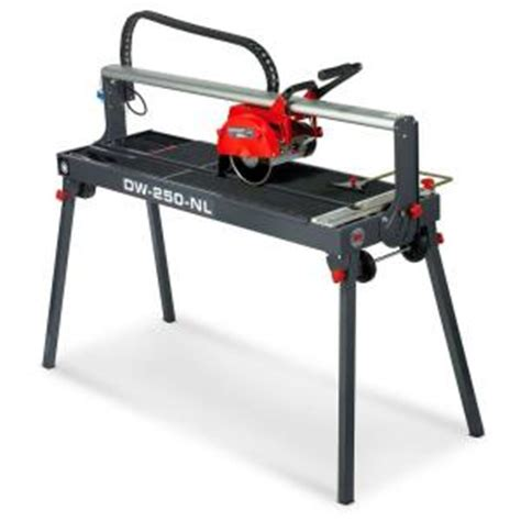 rubi tile saw canada rubi 1 5 hp dw 250 n 31 in tile saw 54948 the home