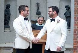 A-list gay couple 'married' by Justice Ginsburg arrested for rape of male student…