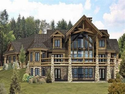 Log Homes Cabin Plans Floor Custom Timber