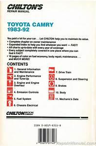 Chilton Toyota Camry 1983