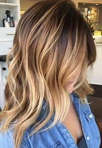 Ombré Hair Blond Foncé : coupe de cheveux les coiffures qui rajeunissent coiffure simple et facile ~ Nature-et-papiers.com Idées de Décoration