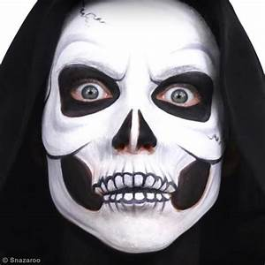 Maquillage Squelette Facile : maquillage facile t te de mort halloween diy vid o ~ Dode.kayakingforconservation.com Idées de Décoration