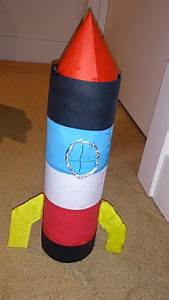 recycled bottle rocket my kid craft
