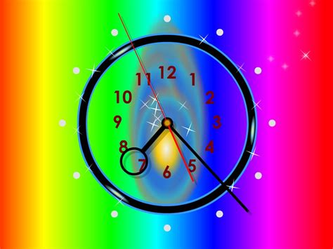 Animated Clock Wallpaper - wall clock themes for desktop