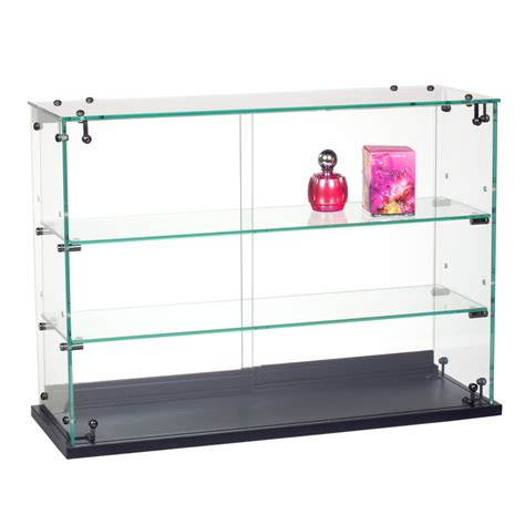 Countertop Showcases by Retail Counter Displays Locking Glass Countertop Showcase