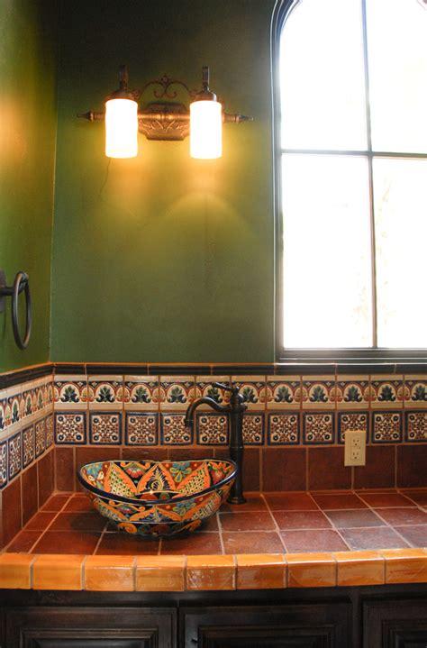 bright talavera tile mode austin mediterranean kitchen