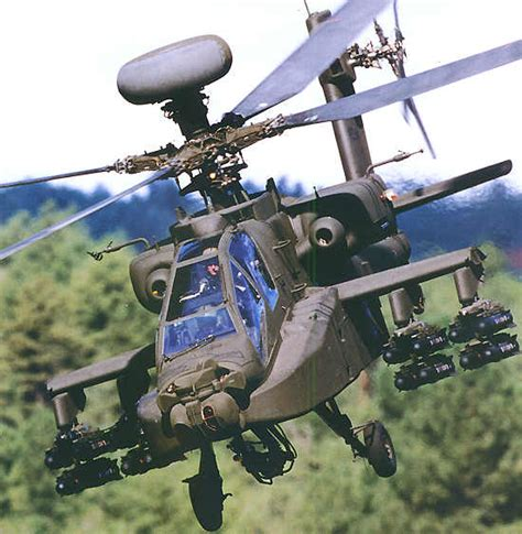 Ah-64a/d Apache Attack Helicopter