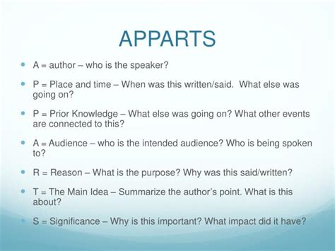 Ppt  Apparts Powerpoint Presentation Id2445700