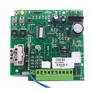 Carte Electronique Portail : carte lectronique cth43 pour automatisme silde 600 ~ Melissatoandfro.com Idées de Décoration