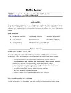 submit resume for in delhi chef babloo resume