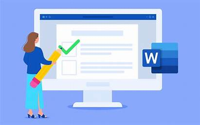 Word Microsoft Courses Space Double